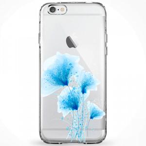 Capinha Flores Azuis