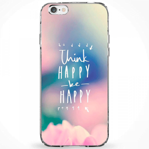 Capinha Think Happy Be Happy
