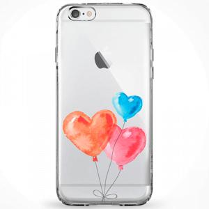 Capinha Balões de Corações