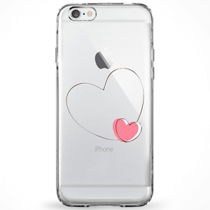 Capinha Coração Rosa