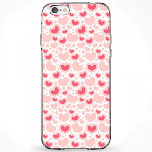 Capinha Love Red And Pink