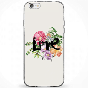 Capinha Love Floral