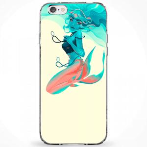 Capinha Sereia Blue