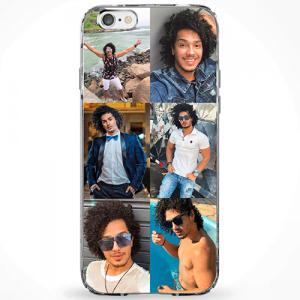 Capinha personalizada com foto – 1, 3, 5 ou 6 fotos