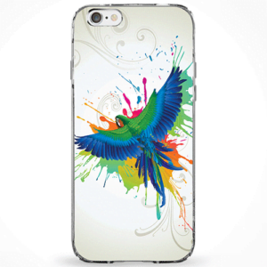 Capinha Pássaro Colors
