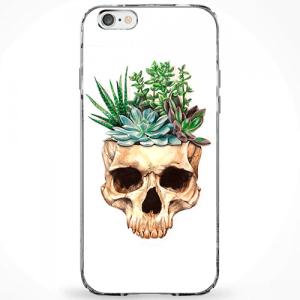 Capinha Flowers Skull