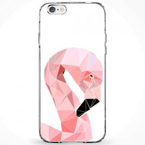 Capinha Flamingo Abstrato