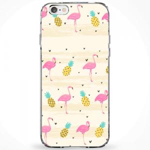 Capinha Flamingos e Abacaxis