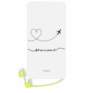 Carregador portatil personalizado com nome – 127