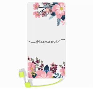 Carregador portatil personalizado com nome – 02