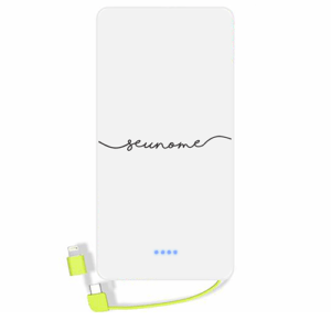 Carregador portatil personalizado com nome – 08