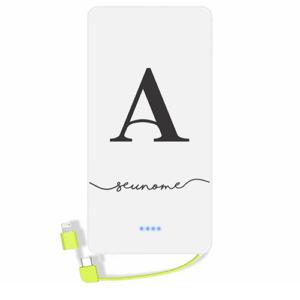 Carregador portatil personalizado com nome – 09