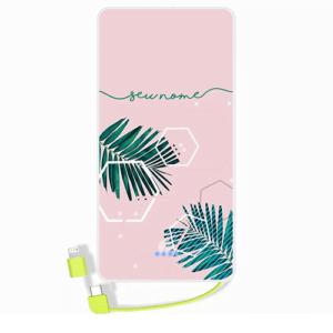 Carregador portatil personalizado com nome – 97