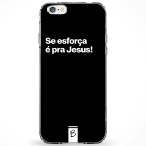 Capinha Se esforça, é pra jesus