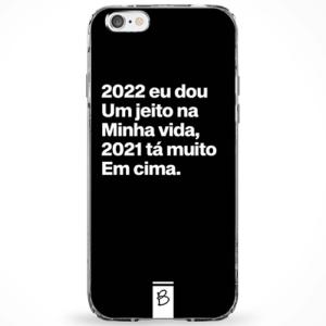 Capinha 2022 eu dou um jeito na minha vida, 2021 tá muito em cima.